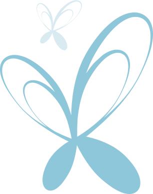 Image de papillons en filigrane